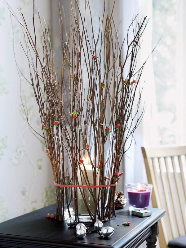 Сухие ветки для декора в вазу