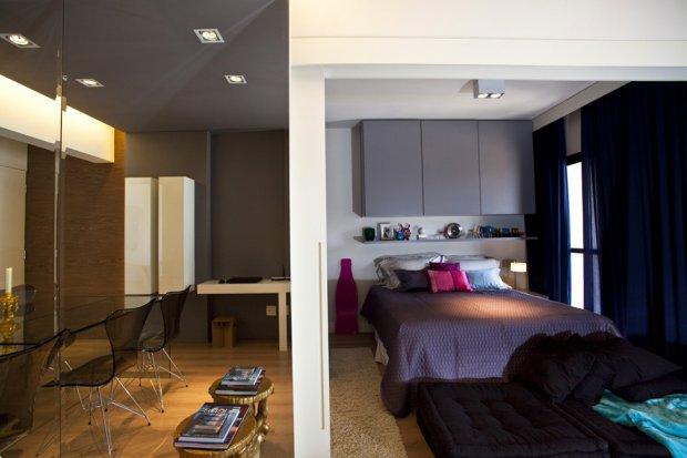 Интерьер квартиры от дизайнера интерьеров Mauicio Karam