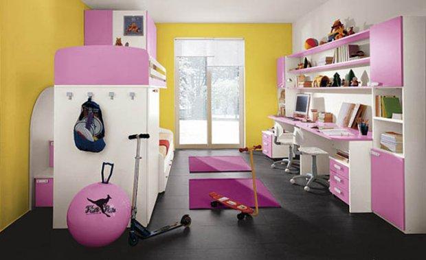 Интерьер квартиры в розовом цвете в примерах (59 фото)
