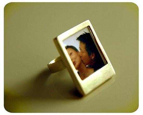 Интересные кольца - нестандартный подход ювелирных мастеров.