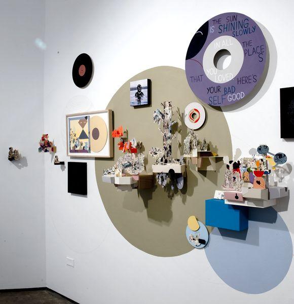 Рисунки и инсталяции художника Jason Jаgel - 32 фото