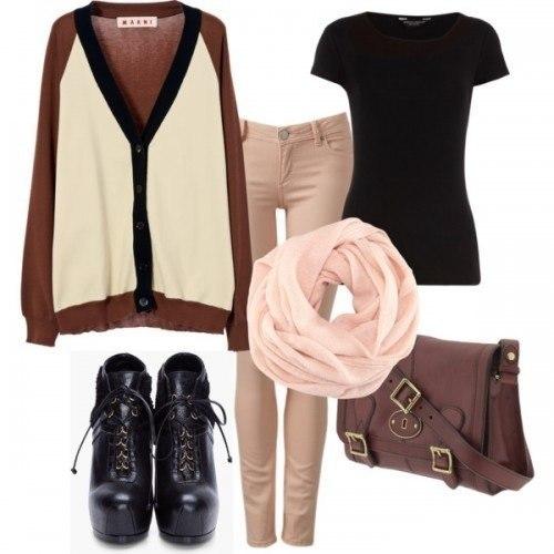 Модные и стильные образы - 5 нарядов