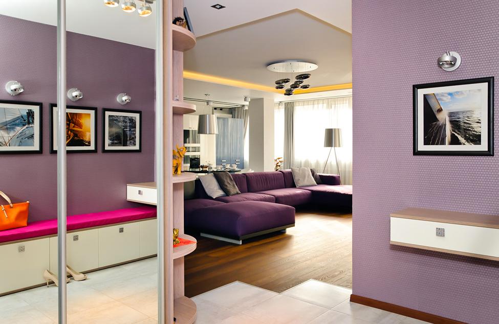 Цветовой дизайн квартиры