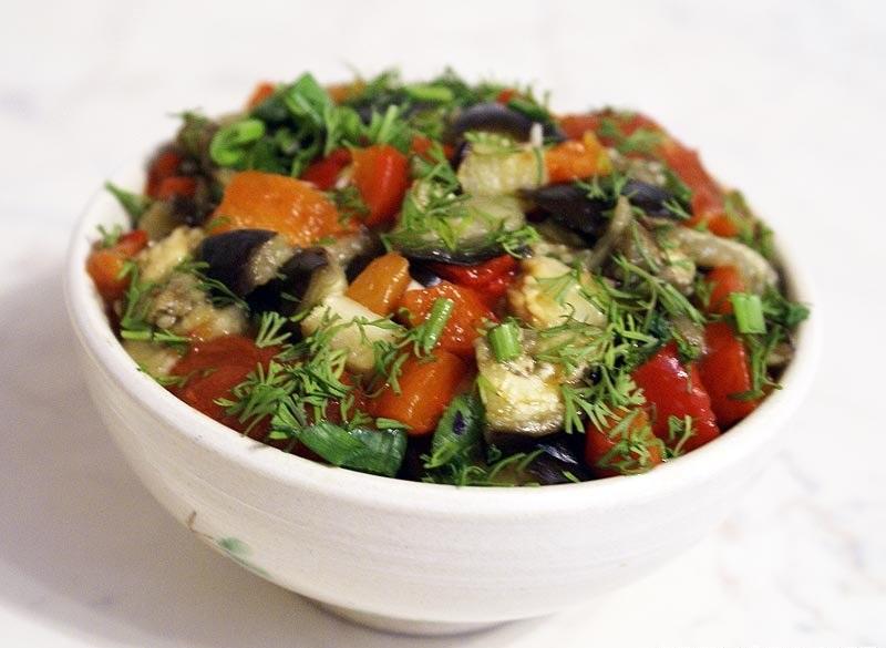 Кавказская кухняы с фото салат