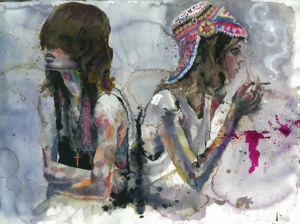 Работы американской художницы Marcela Gutiеrrez