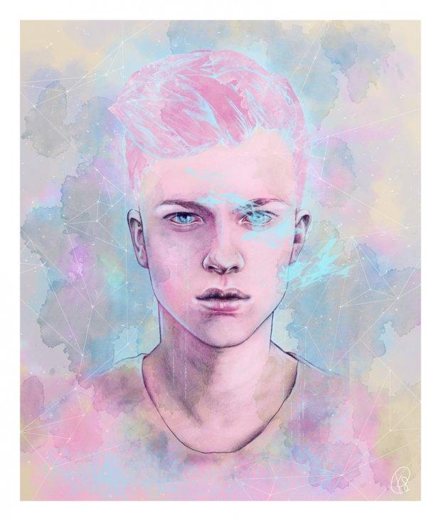 Работы художницы Katie Sanvick