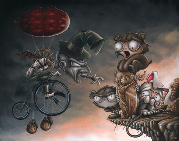 Искусство Anthony Clarkson'а - 44 работы