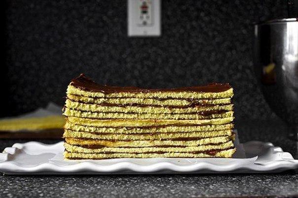 Шоколадный многослойный торт (Рецепт)