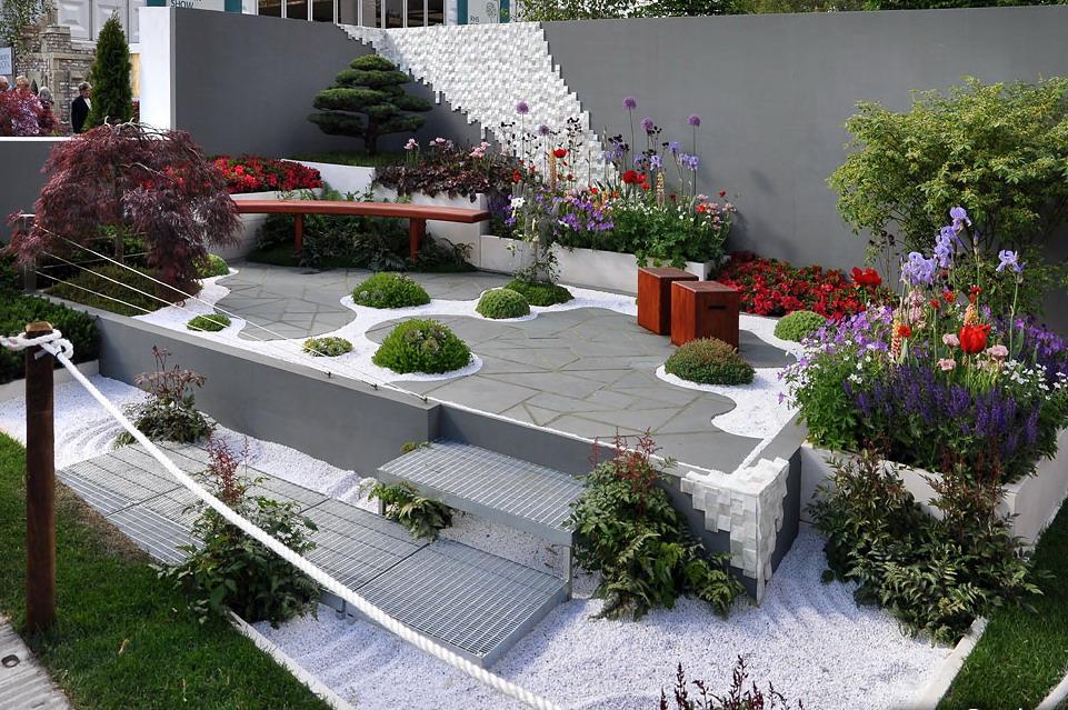 Благоустройство двора частного дома