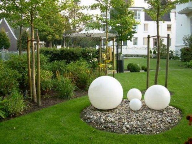 Сад в стиле модерн - Ландшафтный дизайн