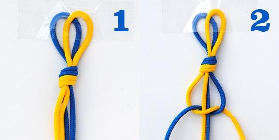 Как сделать браслеты из ниток