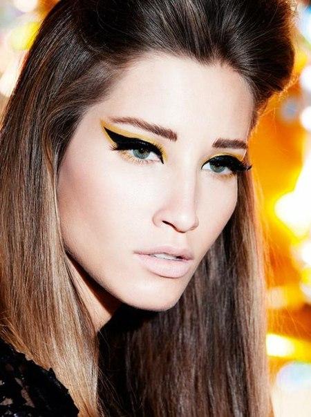 3 Идеи красивого вызывающего макияжа