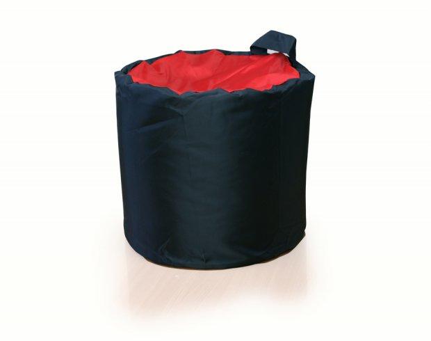 Делаем кресло мешок в форме цилиндра