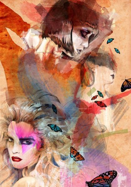 Иллюстрации Роберта Тирадо  (Robert Tirado's art)