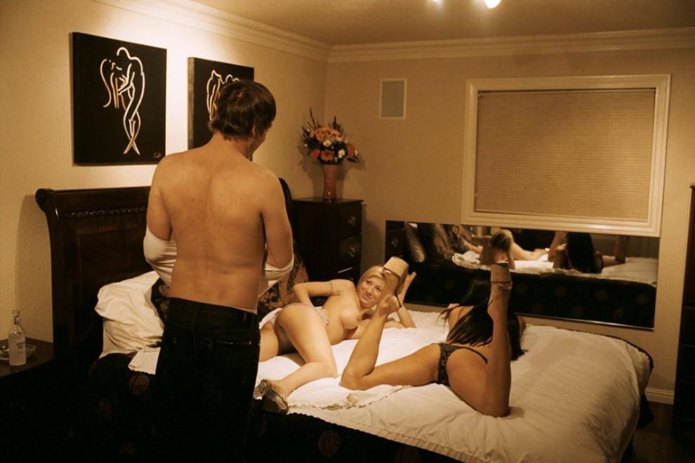Секс в vip комнате
