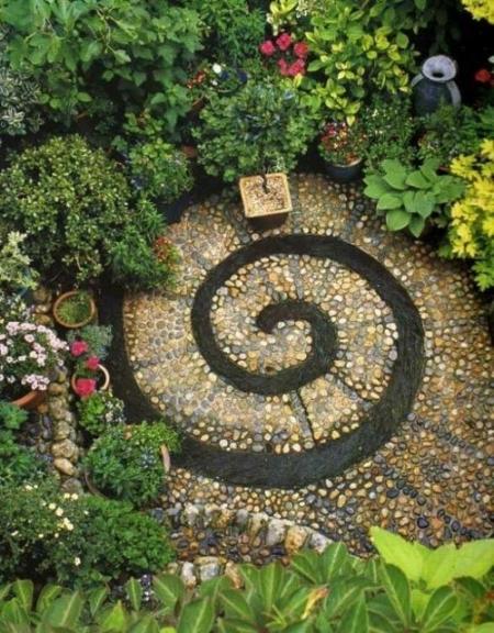 17 идей  оформления садовых дорожек