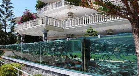 Садовый аквариум - стильное украшение ландшафта