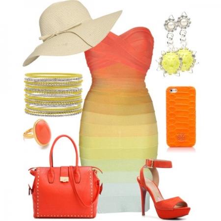 Красочные модные сеты - 9 образов