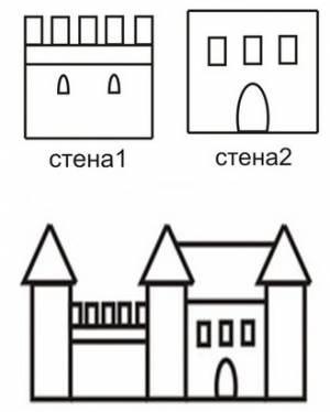 Мастер-класс строительства замка на участке