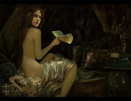 Реализм в фантазиях художницы Eve Ventrue