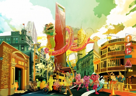 Художник Цзян Шань (Shan Jiang) - 83 работы