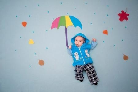 Идеи для фото малыша.