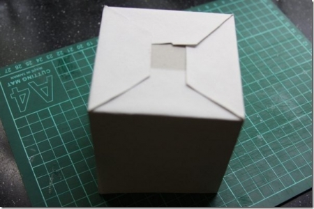 Коробочка для подарка в технике скрапбукинг мастер-класс