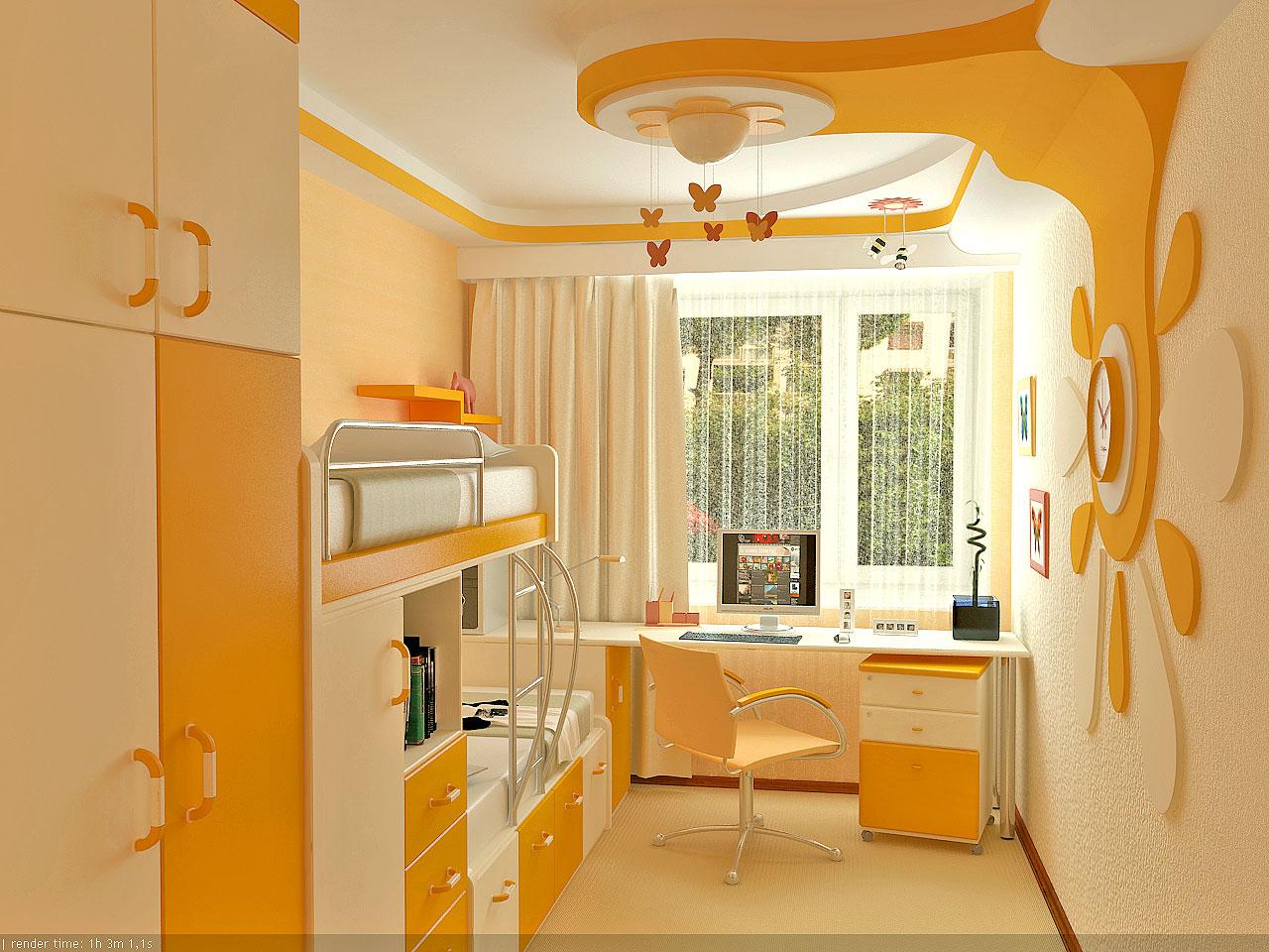 Мебель для детской с балконом.