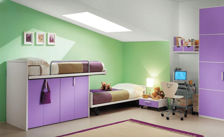 Фото дизайн мебели детских комнат для