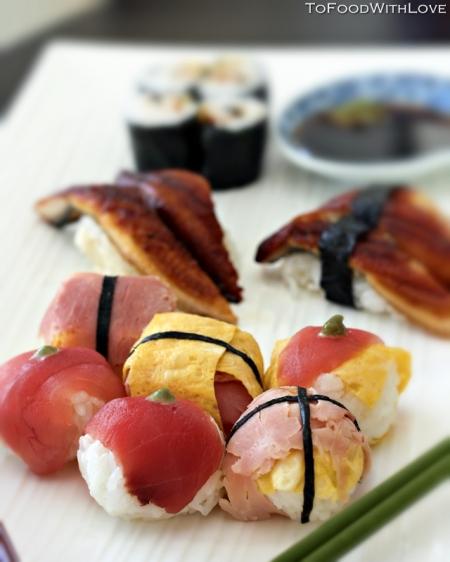 Темари-суши (Temari Sushi) - Японская кухня