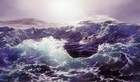 Морские картины от Loren Adams (70 работ)