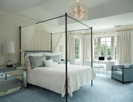Кровать с балдахином - 30 фотографий красивого интерьера