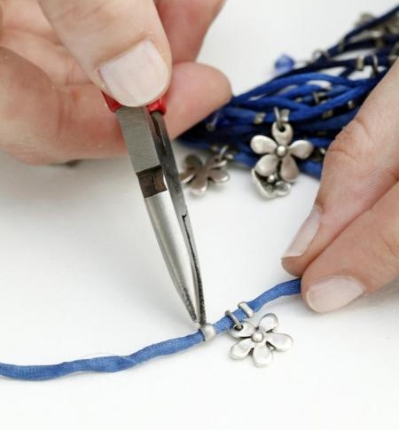 Красивое ожерелье своими руками