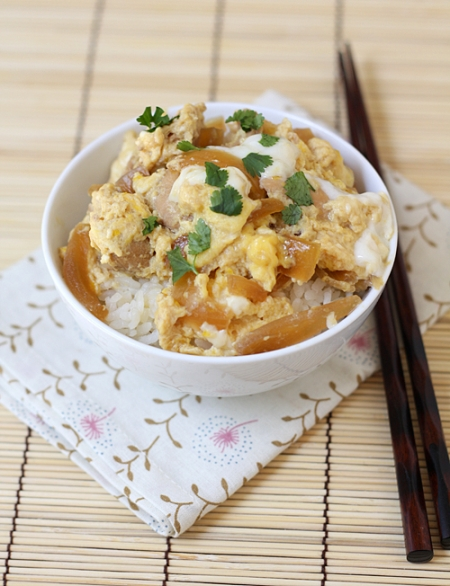 Оякадон - Oyakodon (Oyako Donburi) Рецепт + Видео - Японская кухня