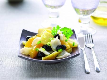 Малагский салат (Ensalada Malagueña) -Испанская кухня