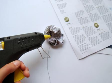 Бумажный попугайчик -  мастер-класс