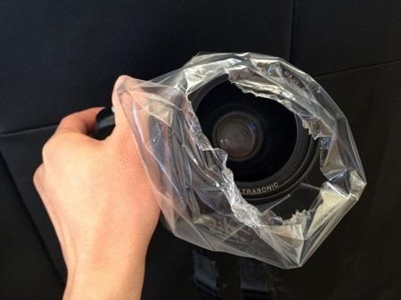 Создаем эффект дымки из полиэтиленового пакета - Идея для фотографа