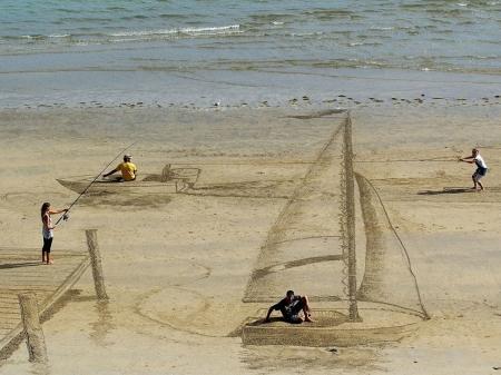 Хорошие идеи для фотографий на пляже - 4 идеи