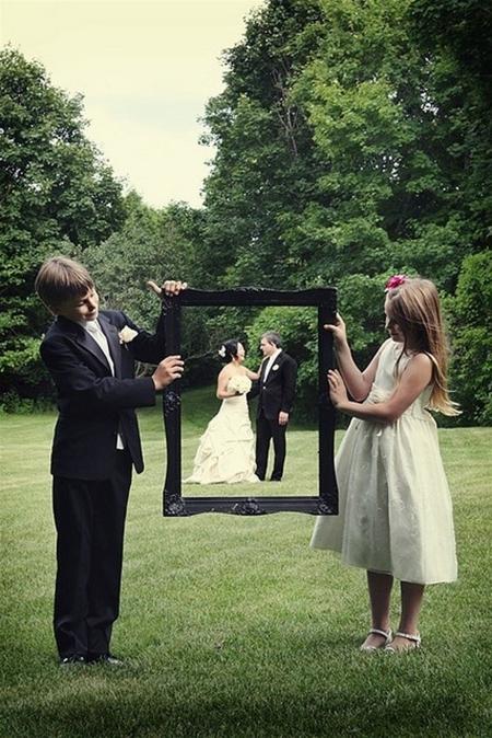Оригинальные идеи для свадебной фотографии - 6 идей