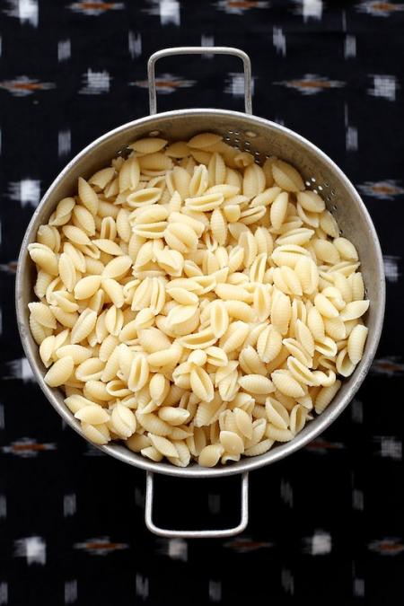 Муффалет-паста - рецепт салата