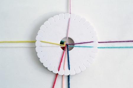 Kumihimo плетение ( мастер-класс)