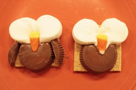 Вкусная совушка - идея для детского праздника (мастер-класс)
