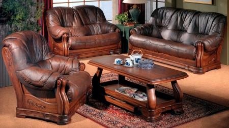Где купить отличную кожаную мебель бу