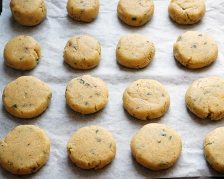 Лимонное печенье с фисташками (Рецепт)