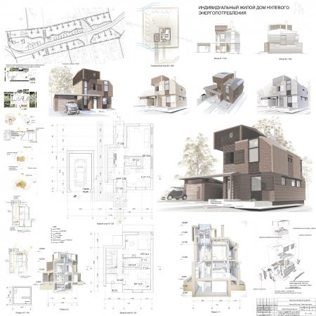 Индивидуальный проект дома. Из какого материала построить