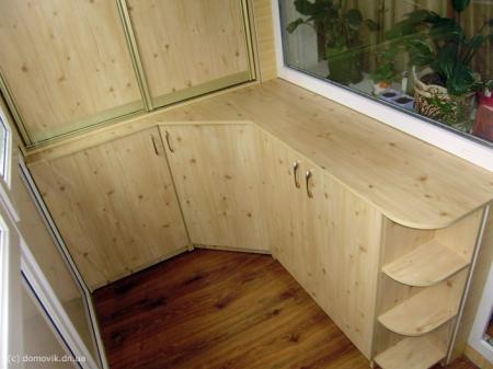 Организация хранения на балконе