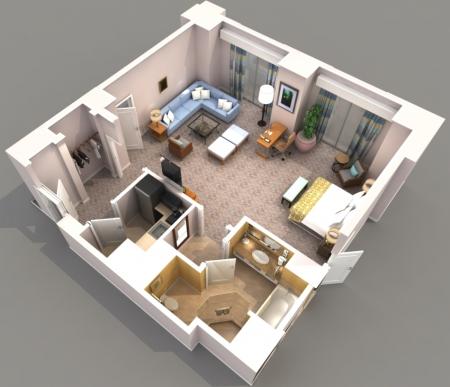 Необычные решения для планировки квартиры
