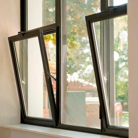 Окна из алюминиевого профиля: типы и характеристика